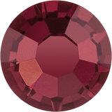 Preciosa Rivets silver - Burgundy 90100 (SS29 - SS34)_
