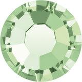Preciosa Rivets silver - Chrysolite 50000 (SS29 - SS34)_