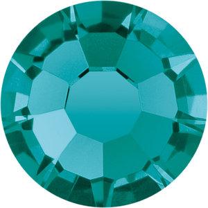 Preciosa Rivets silver - Blue Zircon 60230 (SS29 - SS34)
